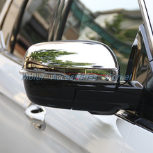 New Chrome Rearview Door Mirror Cover Trim For Ford Edge 2015 2016 2017