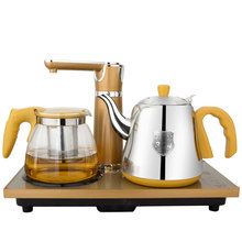 Electric kettle Electromagnetic tea stove Automatic upper water electric pump set three-in-one kung(China)