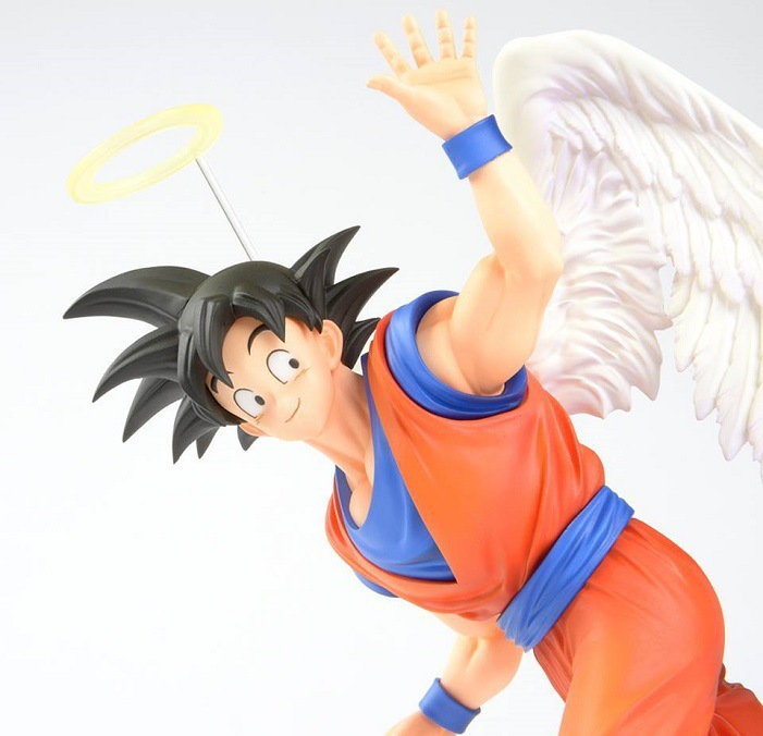 Dragon ball Z SCultures BIG Resurrection Of F Styling God Super Saiyan Son Goku Bardock PVC action Figure Toy  angel Son Goku<br><br>Aliexpress
