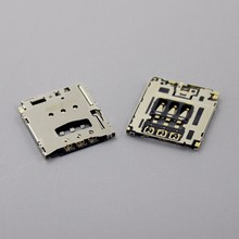 2Pieces for Lenovo Yoga Tablet B6000 B8000 A5500 3G SIM Card Reader Holder Connector Socket Slot Replacement,KA-142