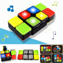 Creative toys, puzzle toys, Led show,Music three personality Rubik's cube(China)