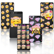 Cases For Ascend Huawei P8 Lite Covers popular cute emojj tpu Capa Protective Shell Case for Huawei P8Lite Soft Silicon Fundas