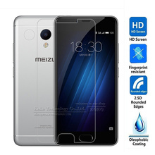Amazing Screen Protector Arc Edge Tempered Glass For Meizu M3S 5.0inch Screen Protector Film For Meilan 3S