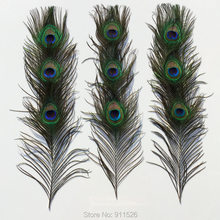 Wholesale 50pcs Real Peacock Tail Feathers about 25-30cm/10-12 Inches/ Free shipping