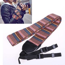 New Fashion Camera Strap Camera Strap for SLR DSLR Color Blocking Tool