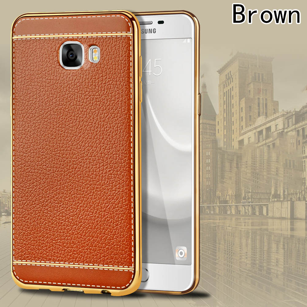 High Quality Vintage Luxury PU Leather Phone Case For Samsung A8