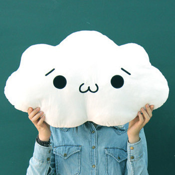 White Cloud Cushion 3 Designs In Stock Baby Kawaii Cushion Cloud Toy PP Cotton Pillow Home Sofa Decoration Girl Birthday Gift<br><br>Aliexpress