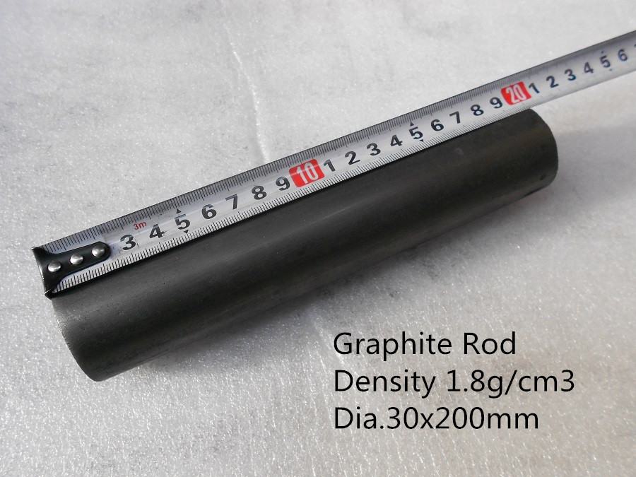Graphite rod    Dia.30*200mm    / graphite rod sliding block/    graphite round /FREE SHIPPING<br><br>Aliexpress