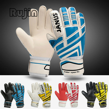 Thick Proessional Soccer Goalkeeper Gloves Breathable Football Gloves Protector LATEX Palm adult child training Goalkeeper