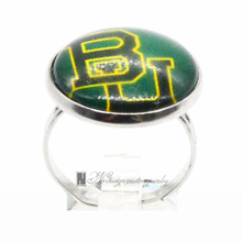 Ring Baylor Bears Basketball Ring For Women Girl Adjustable GDR0059(China)