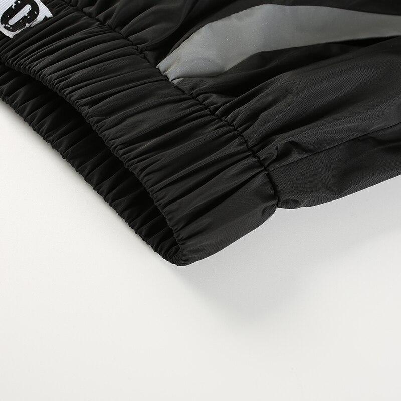 11Sweetown Plus Size Pantalon Large Femme Black Harajuku Cargo Sweat Pants Korean Style High Waist Baggy Joggers Women Sweatpants
