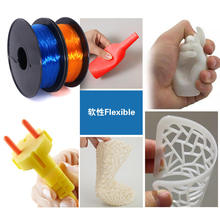 Worldwide Fast Delivery Manufacturer Flexible 3D Printer machine filament 0.8kg Soft Rubber 1.75mm 9 colors opt TPU material(China)