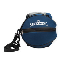 SANKEXING Training Equipment Accessories Football Bag Outdoor Kits Volleyball Basketball Round Sports Shoulder Ball Bags Nylon