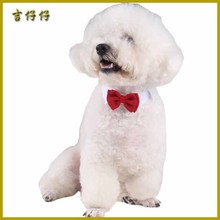 New Adjustable Dog Bow Tie Neck Puppy Bright Coloured Pet Bow Pet Accessory Necklace Collar tie Free shipping