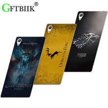 Cute Cartoon Case For Sony Xperia X F5121 Dual F5122 Hard Plastic Case Fashion Printed Cover Game of Thrones 7
