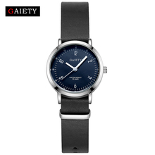 GAIETY Leather Strap Man Sport Luxury Silver Wrist Watch For Men Clock Fashion Dress Sport Casual Watch Cheap G235