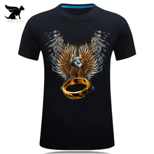 Mens Fashion 3D Printed T Shirt Homme Novelty Design Animal Tops Brand clothes Casual Short Sleeve O-neck T-shirt Male Tees H828