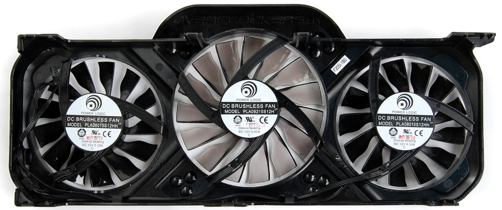 computer PC VGA cooler fans graphics card fan for Palit GTX 770 Video Card Cooling<br>