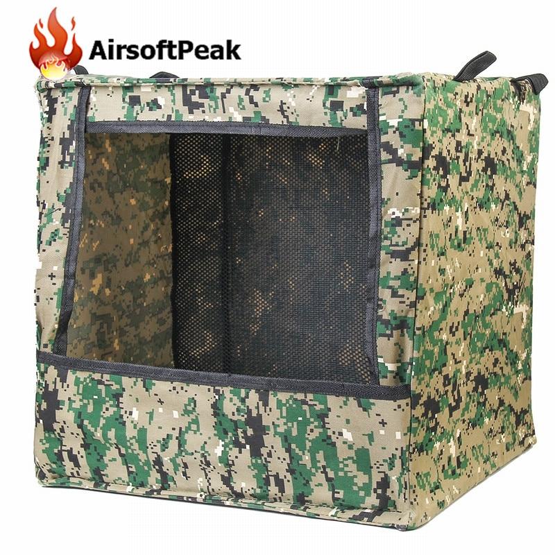 Airsoft Gun Shooting Archery Target Outdoor Digi Camouflage Box-type Portable Target Case Military Shooting Target Box<br><br>Aliexpress