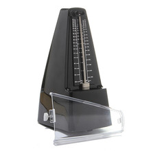 Professional Mechanical Bell Ring Pyramid Metronome Musical Beat Timer Beat Tempo For Electric Acoustic Guitar Bass Piano Violin