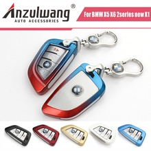 new special car key case key shell for BMW X1 X5 X6 7 Series 2 series wagon 218i Wholesale and retail(China)