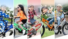 2015 new stroller Girls boys toys with 2 training wheels riding 2-4years 12 inch metal kids bikes children bicycle child bike