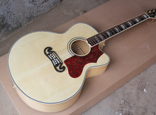 "43""Acoustic Guitar with Cut-Away Body,Red Tortoise Shell Pickguard,Gold Hardwares,Offer Customized"