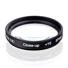 RISE(UK) 37mm Macro Close-Up +10 Close Up Filter for All DSLR digital cameras 37MM LENS(China)