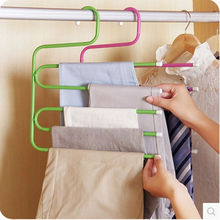 Free Shipping Multifunctional Trousers Rack Outdoor Clothes Hanger To Bathroom Towel Rack(China)