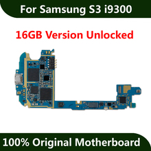 For Samsung Galaxy S3 i9300 Motherboard 100% Original 16GB Unlocked Mainboard Android OS Installed Logic board(China)