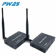 PWAY PW-DT212W Wireless HDMI extender transmitter receiver kit up to 50M/164ft 3D&full HD1080P supported one to many.(China)