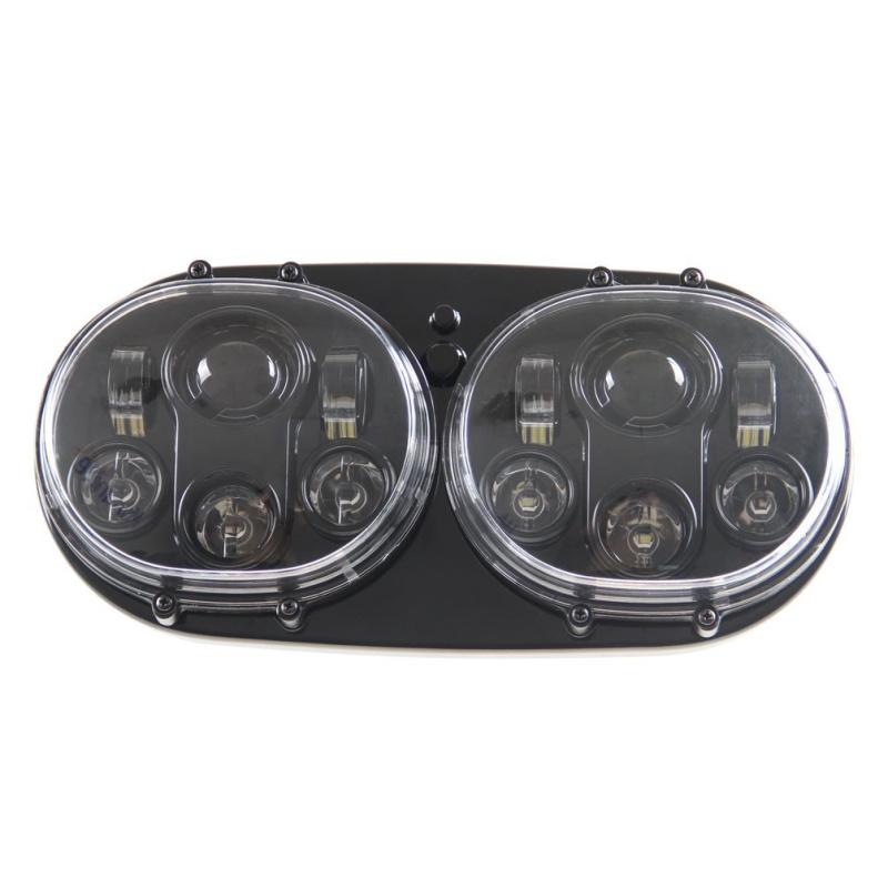 FADUIES 5.75 inch dual LED headlamps Harley Motorcycle 5 34 90W Led Motorcycle headlight For harley-davidson Road Glide dual (14)