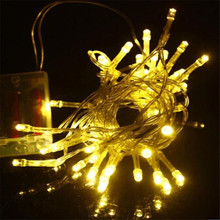 Wholesale 5 Pieces 2.5M 24  led String light 2pcs AA Battery Operated Fairy Party Wedding Christmas Flashing LED strip