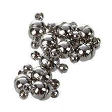 10 x magnetic clasp Magnetic closure chain connector Silver