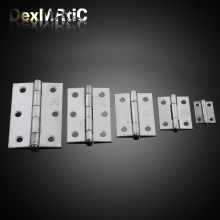 Furniture Hinges 25*19mm, 38*30mm, 50*38mm, 62*42mm, 75*50mm Antique Wooden Gift Box Hinge Stainless Steel Hinge Industrial Hing