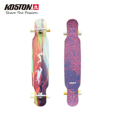 2017 New KOSTON Professional Longboard Completes Dancing Board Walking Hybrid Material Structure Carbon Fiber Long Skateboard
