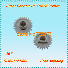 5 X Pressure Roller Gear 26T RU6-0020-000 RU6-0020 Fuser Gear for HP P1505 M1120 Printer Spare Parts
