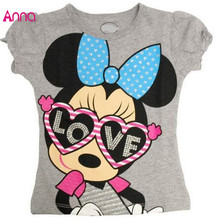 Retail 2017 New Arrival boys girls cartoon anime figure T-shirts kids Tops Tees children's clothing