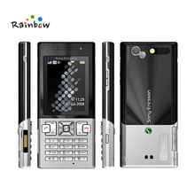 Original Sony Ericsson T700 Gallery Bar Mobile Phone Unlocked with Number Keyboard Bluetooth(China)