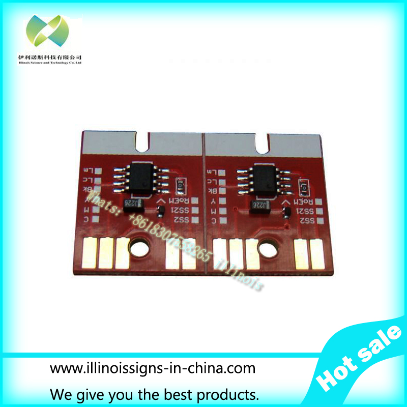 New Version Chip Permanent for Mimaki JV33 SB51 Cartridge 6 Colors CMYKLCLM<br><br>Aliexpress