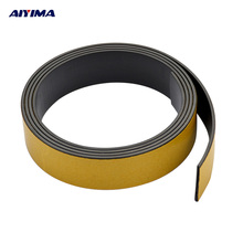 AIYIMA 1M Magnetic Stripe 20*1.5MM Rubber Magnets Paste Sided Adhesive Can Cut All Kinds Of Shapes Magnetic Tape For School Home