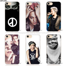 BiNFUL Bigbang K-pop G-Dragon Taeyang Seungri Hard Transparent Phone Case Cover Coque for Apple iPhone 4 4s 5 5s SE 5C 6(China)