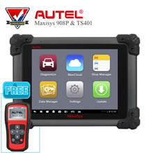 Autel MS908P MaxiSYS Pro WIFI System with J2534 ECU Code Programming Online Update & GIFT MaxiTPMS TS401 Diagnostic tool