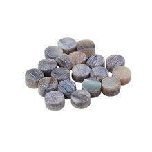 Yibuy 4mm Green Abalone Inlay 20 pieces Guitar Dots(China)