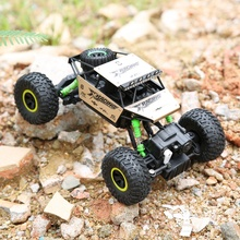 1:18 Remote Control Off-road Climbing Four-Wheel Drive 2.4Ghz High Speed Electric Fast Race Buggy Hobby Car Golden(China)