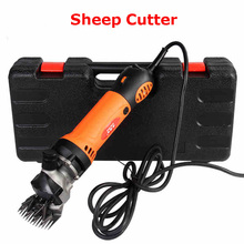 Update ELECTRIC 320W SHEEP Cutter /GOATS SHEARING CLIPPER + 13 tooth straight blade High power cut wool