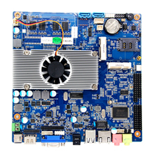 Mini PC Motherboard Mini ITX Mainboard with Intel Atom N2800 Dual Core 4GB DDR3 USB2.0(China)