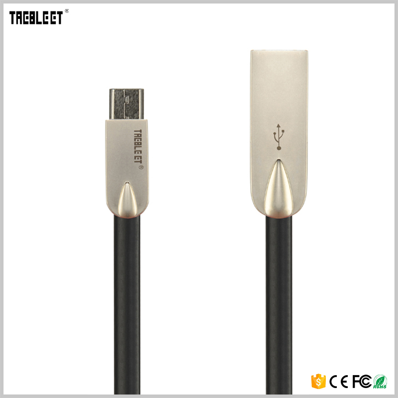 From China manufacturer TPE wire and zinc alloy cable for samsung HUAWEI XIAOMI OPPO VIVO cable(China (Mainland))