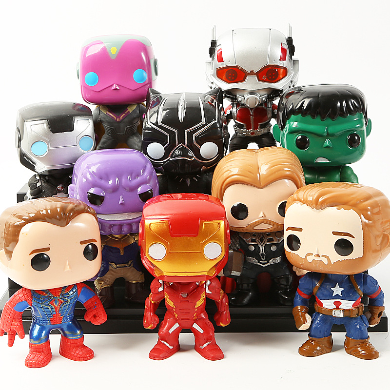Funko Pop Marvel Avengers Endgame Iron Man Super Hero Kids Toy Gift