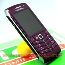 Original BlackBerry Pearl 9105 Mobile Phone GPS 3G WiFi Bluetooth Smartphone Unlocked Purple